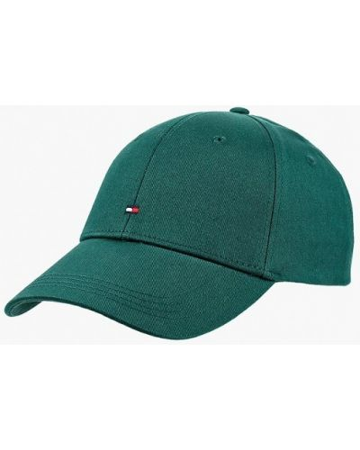 Зеленая бейсболка Tommy Hilfiger