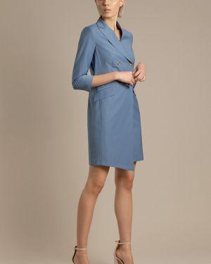 Летнее платье шерстяное весеннее Vassa&co