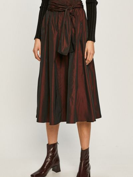Расклешенная юбка на резинке Max&co