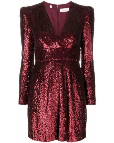 Платье с пайетками с V-образным вырезом Alc