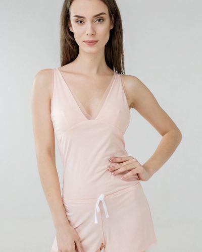 Розовый домашний комбинезон Ora