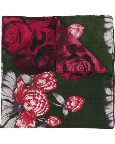 Szalik bawełniany z printem w kwiaty Undercover