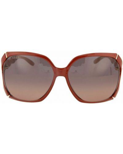 Okulary - czerwone Gucci