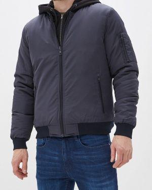 Утепленная куртка осенняя синяя Blend