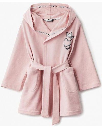 Розовый халат Gulliver