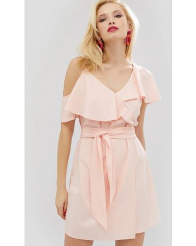 Платье весеннее розовое Cardo