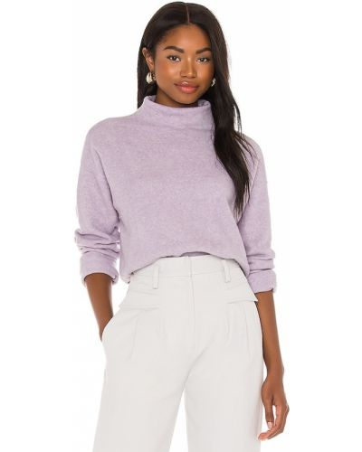 Klasyczny fioletowy pulower z akrylu 525