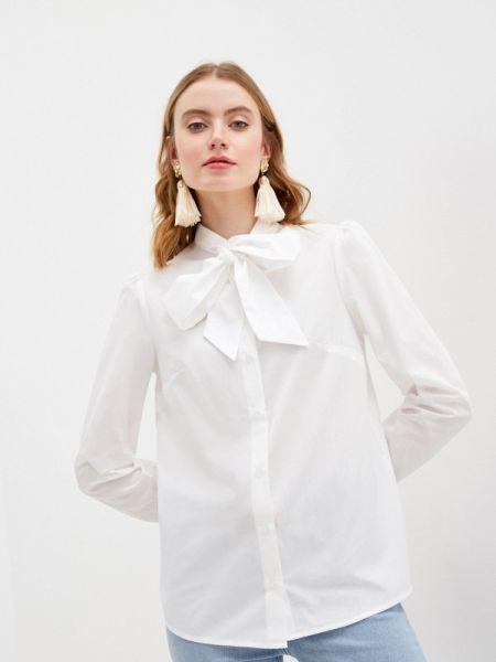 Белая блузка с бантом Rivadu