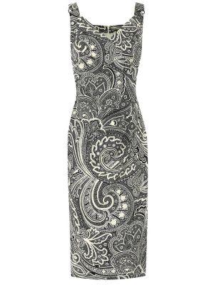 Платье польское с принтом Max Mara