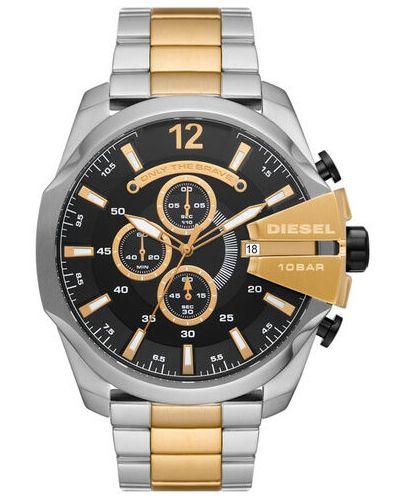 Zegarek srebrny Diesel