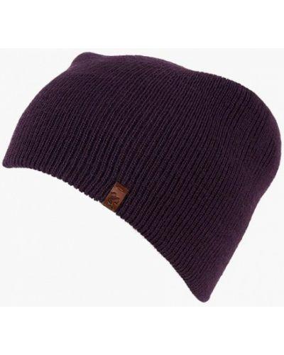 Фиолетовая шапка осенняя Sava Mari