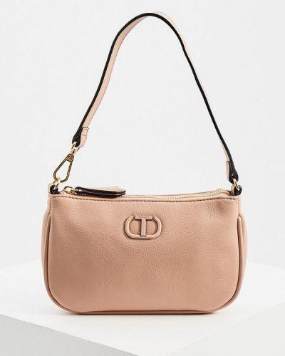 Розовая сумка осенняя Twinset Milano