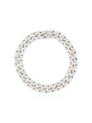 Браслет металлический с бриллиантом Shay