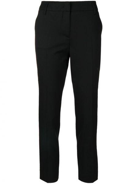 Шерстяные черные укороченные брюки Dorothee Schumacher