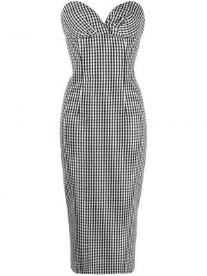 Шелковое платье - белое Balmain