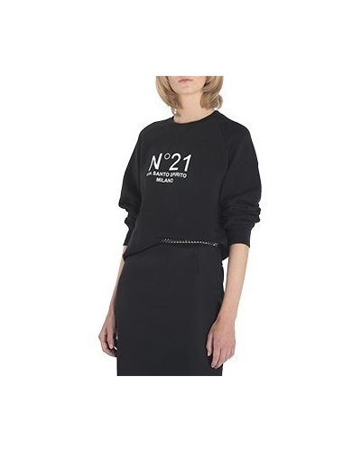 Черная свитшот No.21