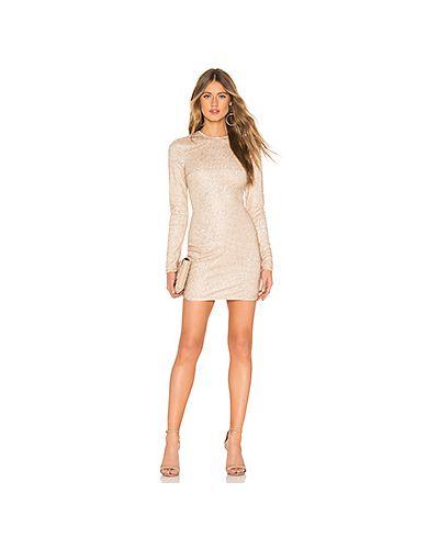 Платье мини с пайетками сетчатое Superdown
