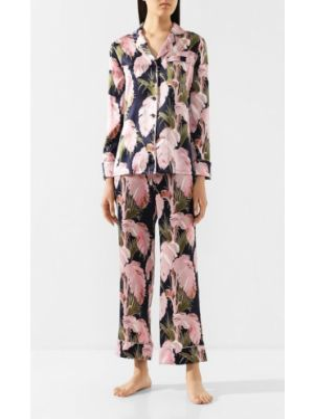 Пижама свободная шелковая Olivia Von Halle
