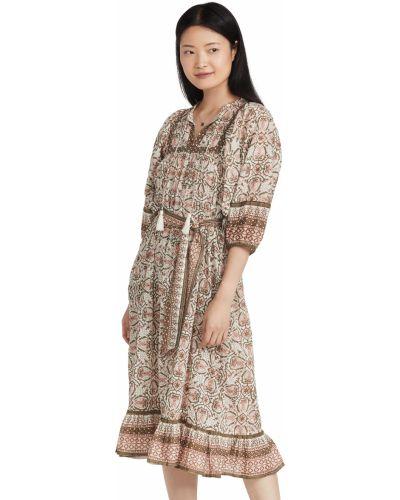 Платье миди с принтом Cleobella