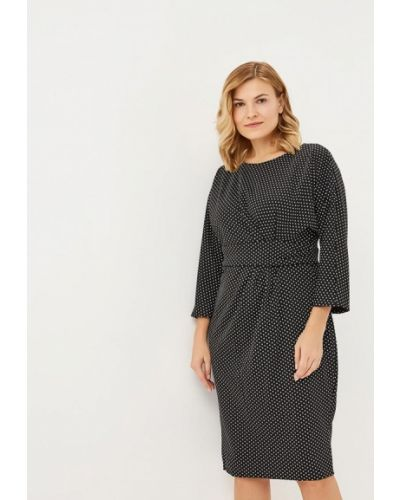 Повседневное платье осеннее королевы Goddiva Size Plus
