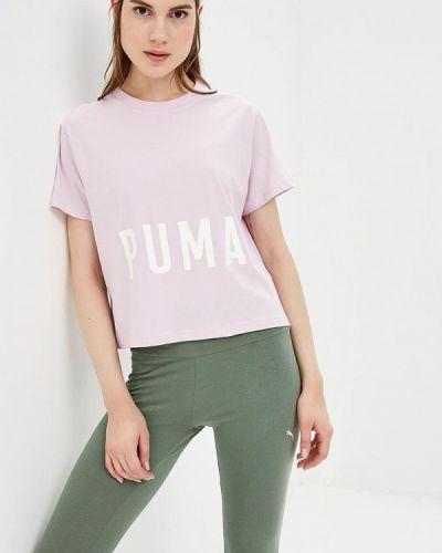 Фиолетовая футболка Puma