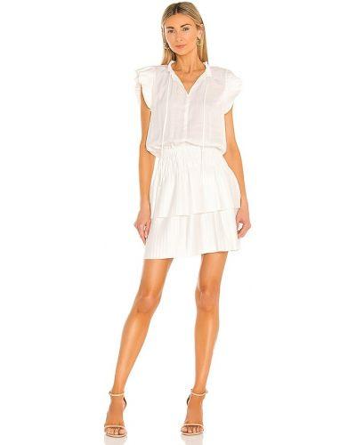 Плиссированное платье - белое 1. State