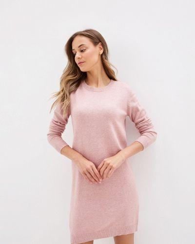 Платье розовое вязаное Jacqueline De Yong