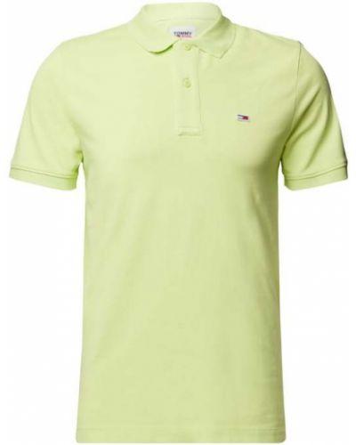 T-shirt bawełniana - żółta Tommy Jeans