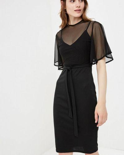 Коктейльное платье осеннее Lost Ink.