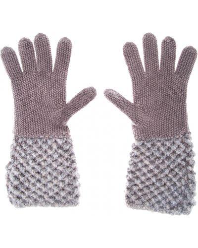 Перчатки шелковые кашемировые Fabiana Filippi
