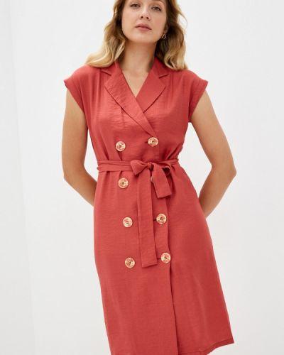 Платье - красное мадам т