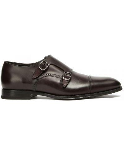 Кожаные красные туфли Franceschetti