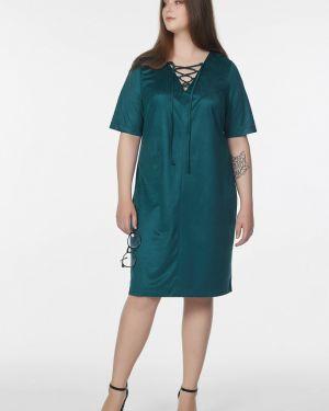 Платье мини на шнуровке с V-образным вырезом Fly