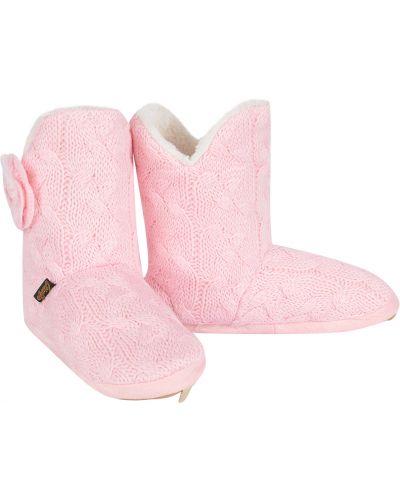 Тапочки розовый Tingo