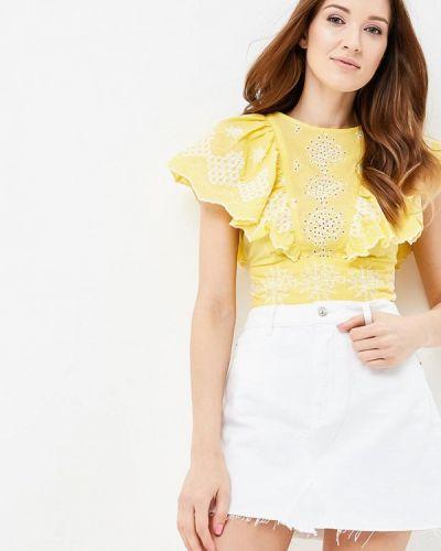 Блузка желтый весенний River Island