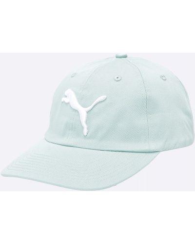 Синяя шапка хлопковая Puma
