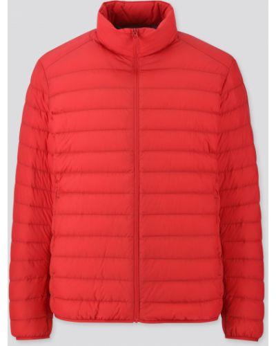 Куртка на молнии - красная Uniqlo