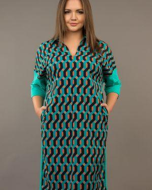 Платье оверсайз платье-сарафан ангелика