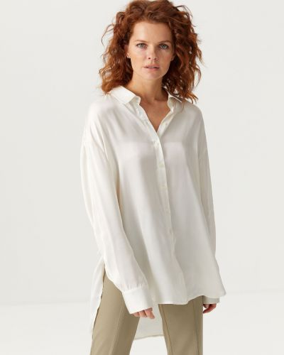 Рубашка с длинным рукавом - белая Sela