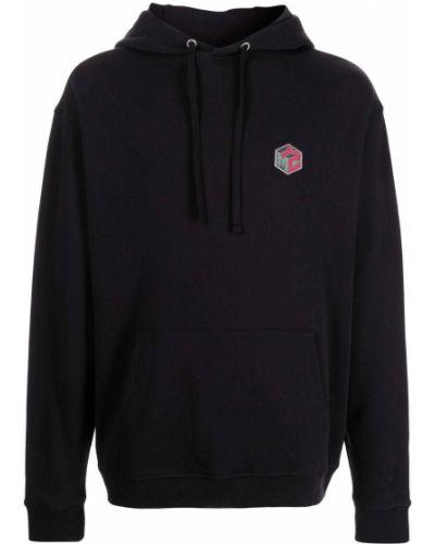 Czarny sweter bawełniany Ymc