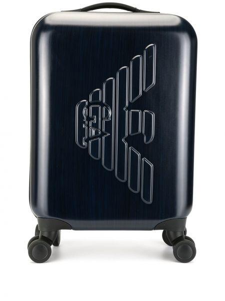 Чемодан на колесиках с логотипом Emporio Armani