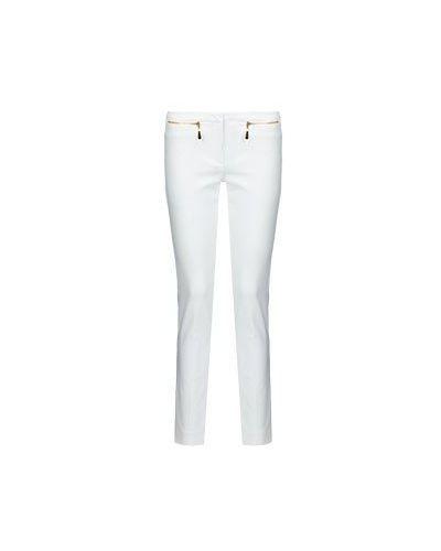 Летние брюки белые Versace Collection
