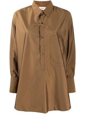 Длинная рубашка - коричневая Barena