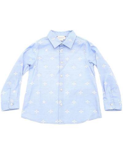 Niebieska koszula Gucci