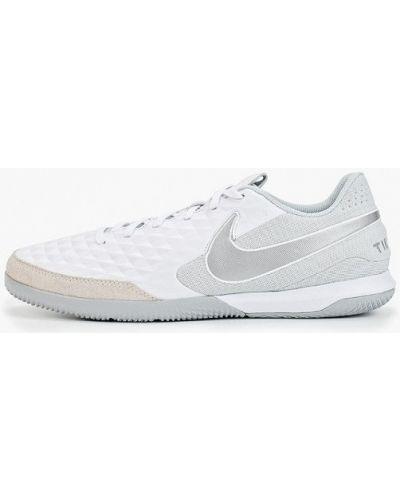 Бутсы кожаный зальные Nike