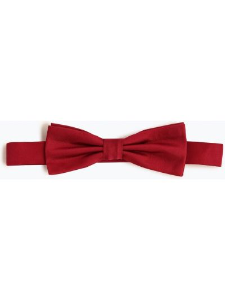 Czerwona mucha z jedwabiu elegancka Finshley & Harding