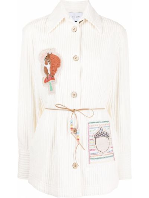 Куртка вельветовая - белая Mira Mikati
