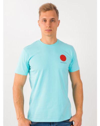 Niebieska t-shirt Edwin