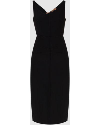 Платье миди - черное N°21