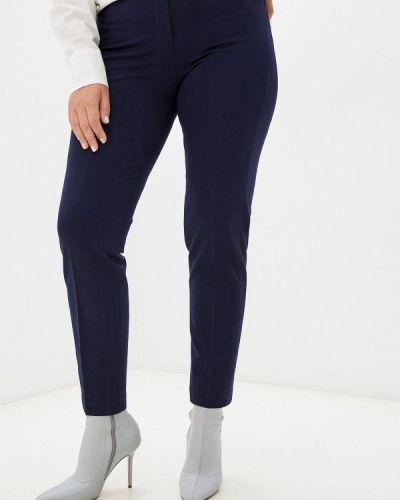 Классические брюки - синие мадам т